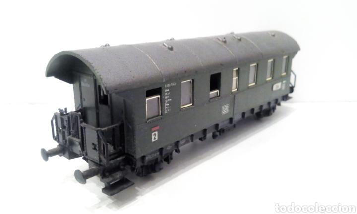 Trenes Escala: JIFFY VENDE PRECIOSO CONJUNTO DE 4 VAGONES FLEISCHMANN H0. VER FOTOS Y DESCRIPCIÓN. ADMITO OFERTAS. - Foto 17 - 238028315