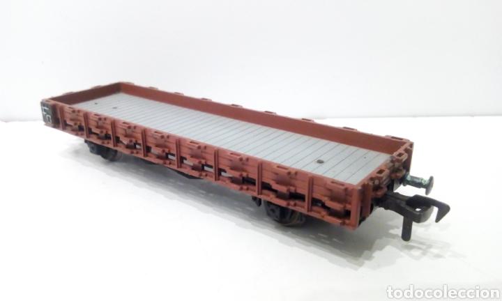 Trenes Escala: JIFFY VENDE VAGÓN H0 BAJO FLEISCHMANN TOTALMENTE METÁLICO, PARA TELEROS. - Foto 3 - 238043880
