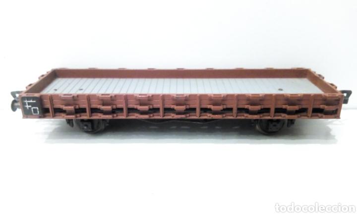 Trenes Escala: JIFFY VENDE VAGÓN H0 BAJO FLEISCHMANN TOTALMENTE METÁLICO, PARA TELEROS. - Foto 4 - 238043880