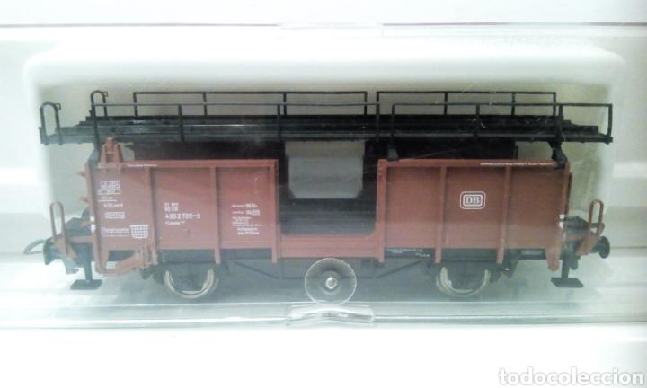Trenes Escala: JIFFY VENDE FLEISCHMANN H0 5224. IMPECABLE ESTADO, EN SU CAJA. PORTA COCHES. PORTA AUTOS. - Foto 3 - 241120680