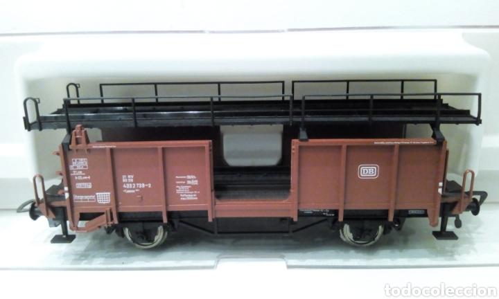Trenes Escala: JIFFY VENDE FLEISCHMANN H0 5224. IMPECABLE ESTADO, EN SU CAJA. PORTA COCHES. PORTA AUTOS. - Foto 4 - 241120680