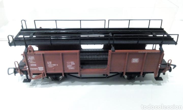 Trenes Escala: JIFFY VENDE FLEISCHMANN H0 5224. IMPECABLE ESTADO, EN SU CAJA. PORTA COCHES. PORTA AUTOS. - Foto 5 - 241120680