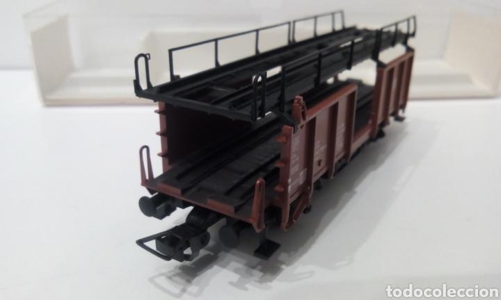 Trenes Escala: JIFFY VENDE FLEISCHMANN H0 5224. IMPECABLE ESTADO, EN SU CAJA. PORTA COCHES. PORTA AUTOS. - Foto 6 - 241120680