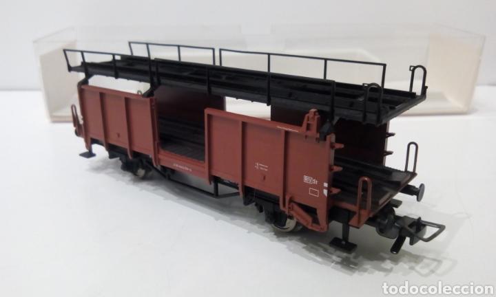 Trenes Escala: JIFFY VENDE FLEISCHMANN H0 5224. IMPECABLE ESTADO, EN SU CAJA. PORTA COCHES. PORTA AUTOS. - Foto 7 - 241120680