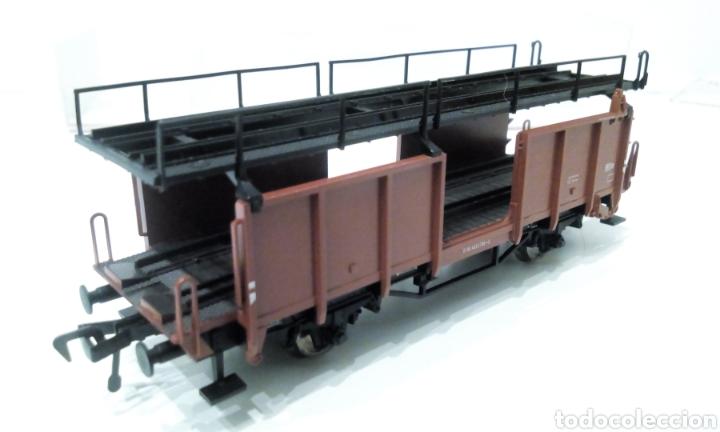 Trenes Escala: JIFFY VENDE FLEISCHMANN H0 5224. IMPECABLE ESTADO, EN SU CAJA. PORTA COCHES. PORTA AUTOS. - Foto 8 - 241120680