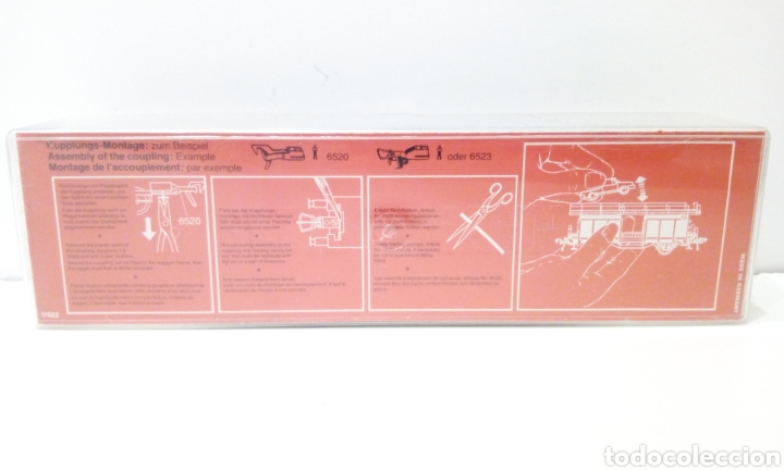Trenes Escala: JIFFY VENDE FLEISCHMANN H0 5224. IMPECABLE ESTADO, EN SU CAJA. PORTA COCHES. PORTA AUTOS. - Foto 12 - 241120680
