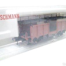 Trenes Escala: JIFFY VENDE FLEISCHMANN H0 5224. IMPECABLE ESTADO, EN SU CAJA. PORTA COCHES. PORTA AUTOS.. Lote 241120680
