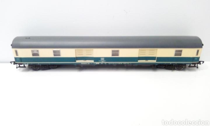 Trenes Escala: JIFFY VENDE 5 VAGONES FLEISCHMANN H0. PASAJEROS, CORREOS Y FURGÓN DE COLA. - Foto 2 - 241266970