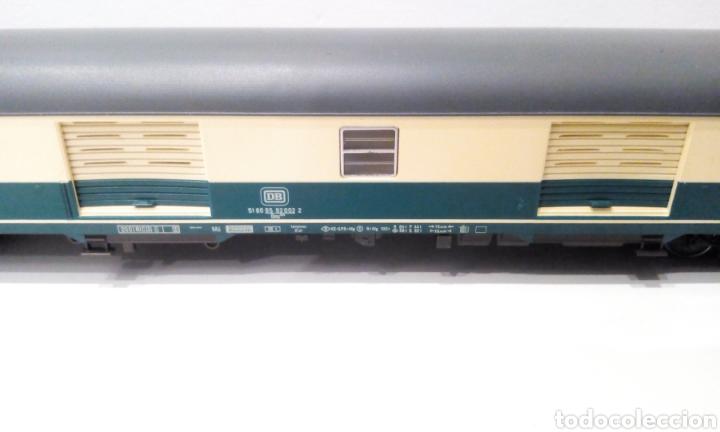 Trenes Escala: JIFFY VENDE 5 VAGONES FLEISCHMANN H0. PASAJEROS, CORREOS Y FURGÓN DE COLA. - Foto 3 - 241266970