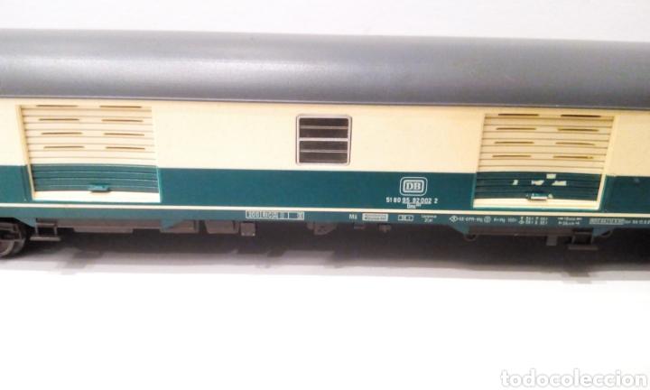 Trenes Escala: JIFFY VENDE 5 VAGONES FLEISCHMANN H0. PASAJEROS, CORREOS Y FURGÓN DE COLA. - Foto 4 - 241266970