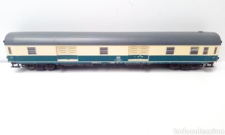 Trenes Escala: JIFFY VENDE 5 VAGONES FLEISCHMANN H0. PASAJEROS, CORREOS Y FURGÓN DE COLA. - Foto 5 - 241266970