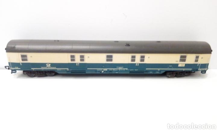 Trenes Escala: JIFFY VENDE 5 VAGONES FLEISCHMANN H0. PASAJEROS, CORREOS Y FURGÓN DE COLA. - Foto 6 - 241266970