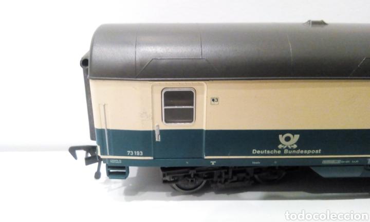 Trenes Escala: JIFFY VENDE 5 VAGONES FLEISCHMANN H0. PASAJEROS, CORREOS Y FURGÓN DE COLA. - Foto 7 - 241266970