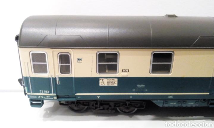 Trenes Escala: JIFFY VENDE 5 VAGONES FLEISCHMANN H0. PASAJEROS, CORREOS Y FURGÓN DE COLA. - Foto 9 - 241266970