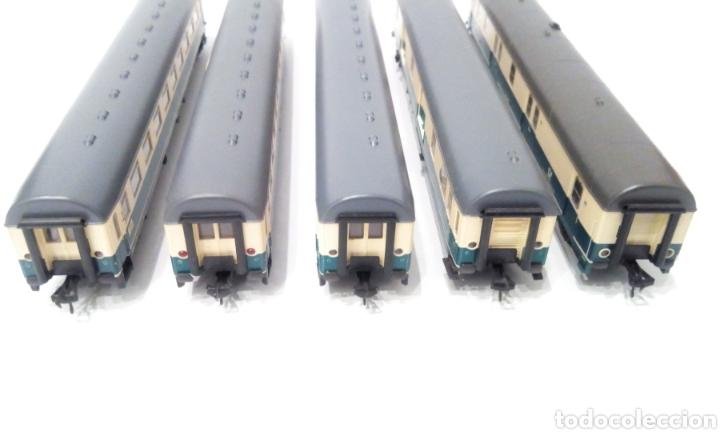 Trenes Escala: JIFFY VENDE 5 VAGONES FLEISCHMANN H0. PASAJEROS, CORREOS Y FURGÓN DE COLA. - Foto 17 - 241266970