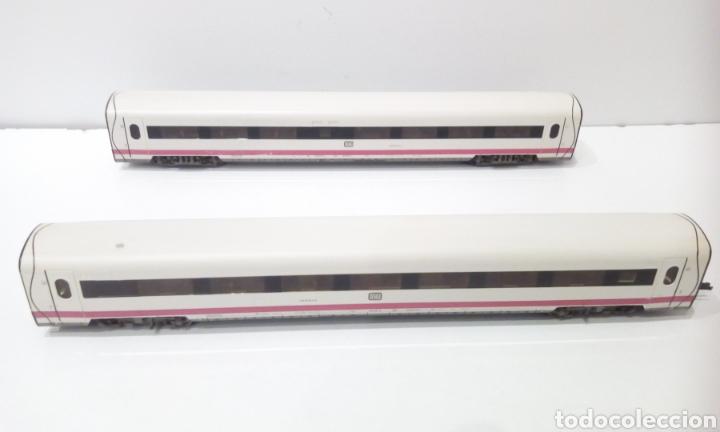 Trenes Escala: JIFFY VENDE 2 VAGONES FLEISCHMANN H0 DB. CREO QUE SON DEL ICE INTERCITY EXPRESS - Foto 2 - 241280065