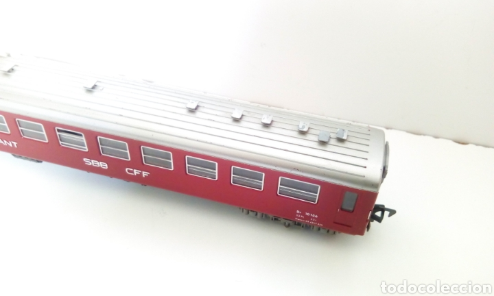 Trenes Escala: JIFFY VENDE VAGÓN FLEISCHMANN H0 SBB CFF RESTAURANT. VAGÓN SUIZO RESTAURANTE. - Foto 3 - 244687245