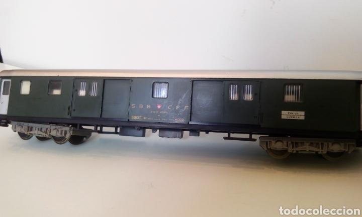 Trenes Escala: JIFFY VENDE VAGÓN FLEISCHMANN H0 SBB CFF ZÜRICH LUZERN. FURGÓN SUIZO - Foto 5 - 244689610