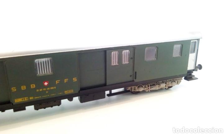 Trenes Escala: JIFFY VENDE VAGÓN FLEISCHMANN H0 SBB CFF ZÜRICH LUZERN. FURGÓN SUIZO - Foto 9 - 244689610