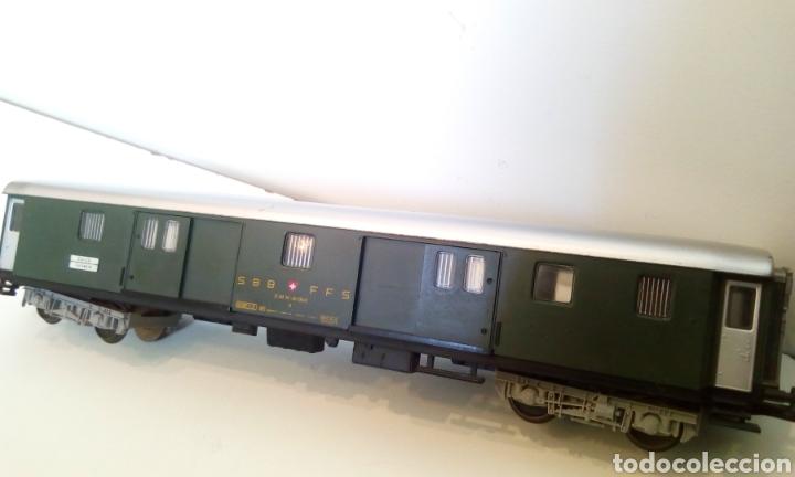 Trenes Escala: JIFFY VENDE VAGÓN FLEISCHMANN H0 SBB CFF ZÜRICH LUZERN. FURGÓN SUIZO - Foto 10 - 244689610