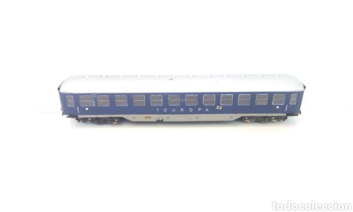 Trenes Escala: JIFFY VENDE VAGÓN FLEISCHMANN H0 TOUROPA. - Foto 3 - 244692345