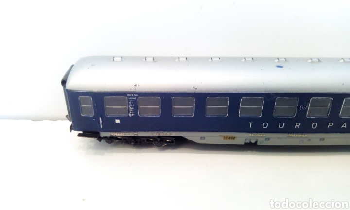 Trenes Escala: JIFFY VENDE VAGÓN FLEISCHMANN H0 TOUROPA. - Foto 4 - 244692345