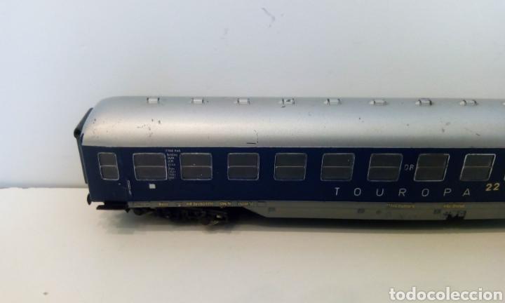 Trenes Escala: JIFFY VENDE VAGÓN FLEISCHMANN H0 TOUROPA. - Foto 6 - 244692345