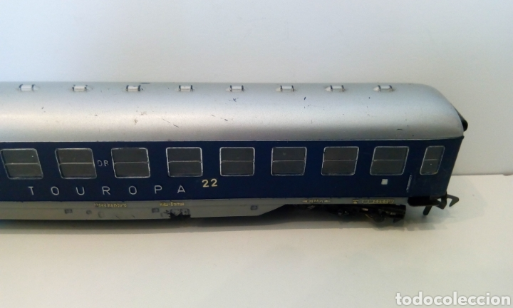 Trenes Escala: JIFFY VENDE VAGÓN FLEISCHMANN H0 TOUROPA. - Foto 7 - 244692345