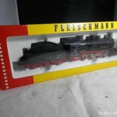 Trenes Escala: LOCOMOTORA VAPOR ESCALA HO DE FLEISCHMANN. Lote 244901375