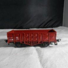Trenes Escala: VAGÓN BORDE ALTO ESCALA HO DE FLEISCHMANN. Lote 245205995