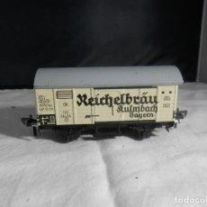 Trenes Escala: VAGÓN CERRADO ESCALA HO DE FLEISCHMANN. Lote 245206920
