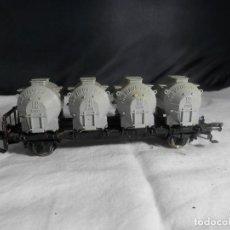 Trenes Escala: VAGÓN SILO ESCALA HO DE FLEISCHMANN. Lote 245207685