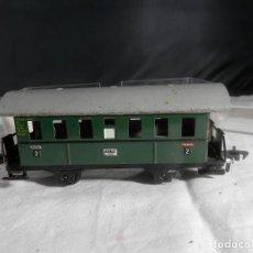 Trains Échelle: VAGÓN PASAJEROS 2 EJES ESCALA HO DE FLEISCHMANN. Lote 245208465