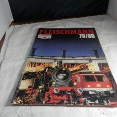 Trenes Escala: CATALOGO FLEISCHMANN. Lote 245645970