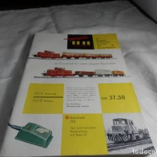 Treni in Scala: CATALOGO FLEISCHMANN. Lote 245646080