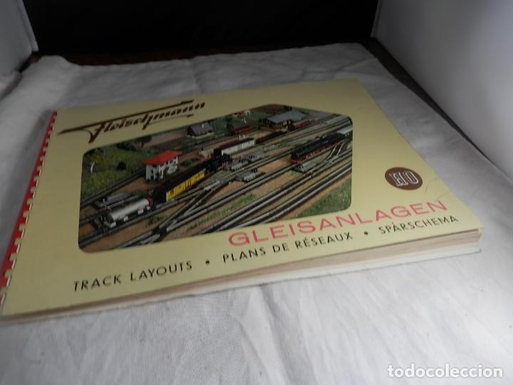 LIBRO DE PLANOS ESCALA HO DE FLEISCHMANN (Juguetes - Trenes Escala H0 - Fleischmann H0)