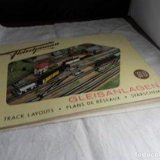 Trenes Escala: LIBRO DE PLANOS ESCALA HO DE FLEISCHMANN. Lote 245646460