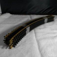 Trenes Escala: LOTE VIAS CURVAS ESCALA HO DE FLEISCHMANN. Lote 245650355