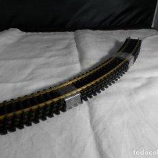 Trenes Escala: LOTE VIAS CURVAS ESCALA HO DE FLEISCHMANN. Lote 245650465