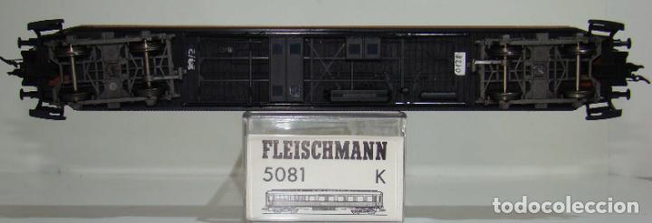 Trenes Escala: FLEISCHMANN COCHE COMEDOR MITROPA REF: 5081 ESCALA H0 - Foto 2 - 245913195