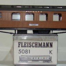 Trenes Escala: FLEISCHMANN COCHE COMEDOR MITROPA REF: 5081 ESCALA H0. Lote 245913195