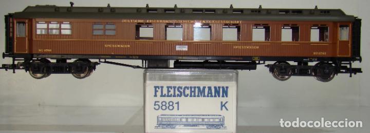 FLEISCHMANN COCHE PASAJEROS REF: 5881 ESCALA H0 (Juguetes - Trenes Escala H0 - Fleischmann H0)