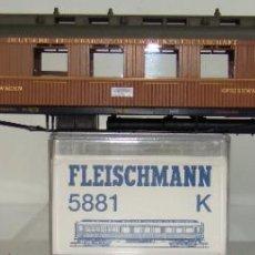 Trenes Escala: FLEISCHMANN COCHE PASAJEROS REF: 5881 ESCALA H0. Lote 245915850