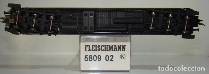 Trenes Escala: FLEISCHMANN COCHE RESTAURANTE 6 ejes, tipo WR 6ü de DESG. REF: 580902 ESCALA H0 - Foto 2 - 245916040