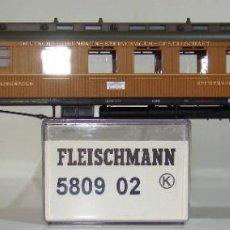 Trenes Escala: FLEISCHMANN COCHE RESTAURANTE 6 EJES, TIPO WR 6Ü DE DESG. REF: 580902 ESCALA H0. Lote 245916040