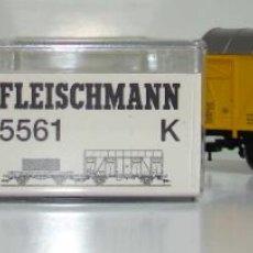 Trenes Escala: FLEISCHMANN SET DE DOS VAGONES REF: 5561 ESCALA H0. Lote 245966545