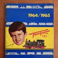 Comboios Escala: FLEISCHMANN H0 INTERNATIONAL 1964/1965 - CATÁLOGO. Lote 247738865