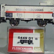 Trenes Escala: FLEISCHMANN VAGON CERRADO DE LA DR REF: 544901 ESCALA H0. Lote 248357735
