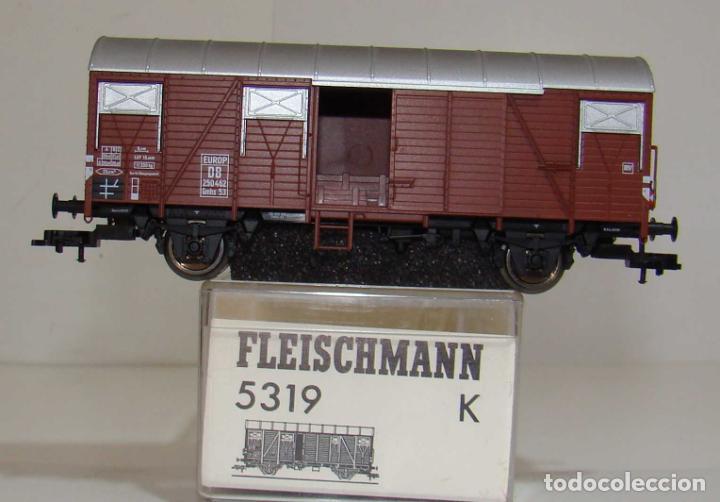 FLEISCHMANN VAGON CERRADO EUROP DB REF: 5319 ESCALA H0 (Juguetes - Trenes Escala H0 - Fleischmann H0)