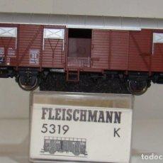 Trenes Escala: FLEISCHMANN VAGON CERRADO EUROP DB REF: 5319 ESCALA H0. Lote 248360745